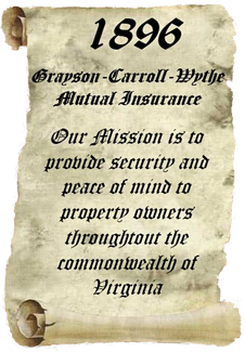 With our roots firmly planted in southwest Virginia since 1896, our mission is to provide security and peace of mind to property owners throughout the commonwealth of Virginia.